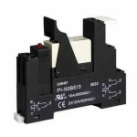 Complete Relay Modules (15,5mm) 1 C/O contacts 230V AC (screw terminals)