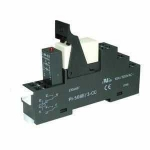 Complete Relay Modules (15,5mm) 2 C/O contacts 230V AC